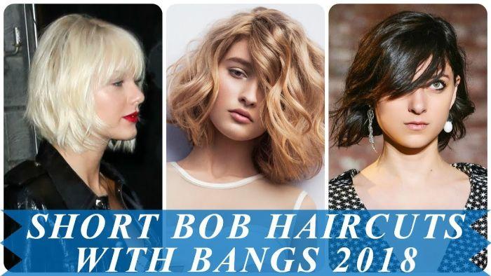 long bob blond idee mit drei bildern, collage models schönes haar, ideen zur gestaltung