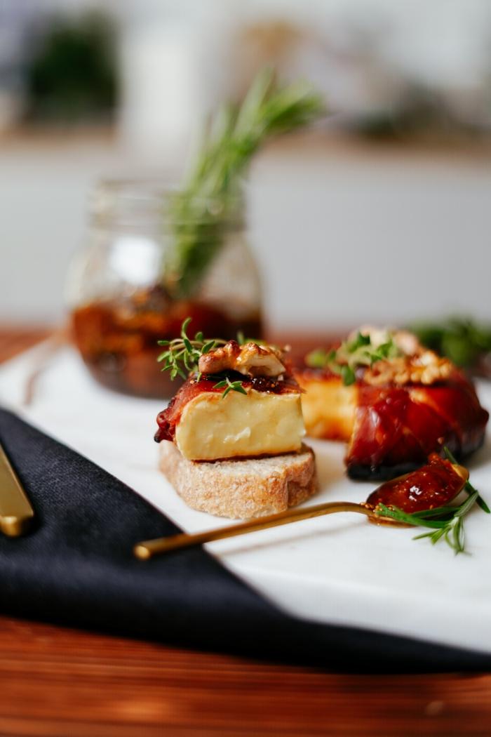 bruch rezepte zum vorbereiten einfach und lecker brie käse backen essen ideen für gäste