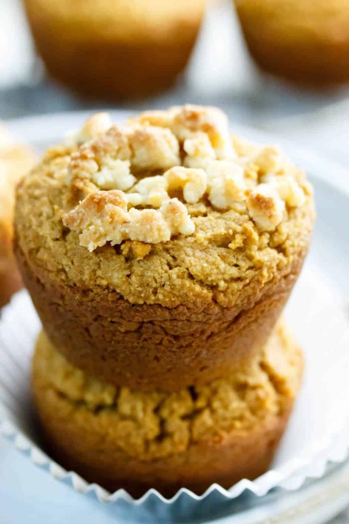 brunch was gehört dazu, muffins mit süßen kartoffeln, glutenfreie rezepte, gesund