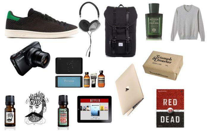 geschenke für väter, die sich nichts wünschen, tablett, bartöle, sneakers, kopfhörer