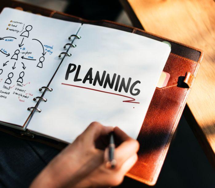 geschenke für männer die alles haben, der businessmann braucht einen planer, heft mit lederhülle