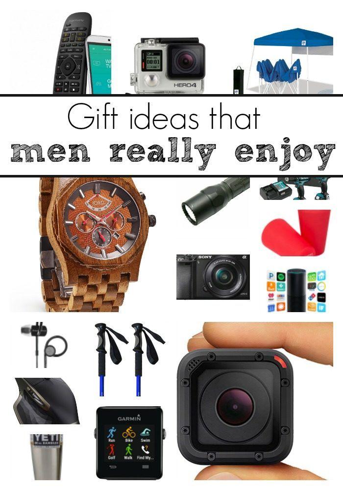 geschenkideen für den freund, kleine geschenke, die er sicher mögen wird, holzuhr, go pro kamera