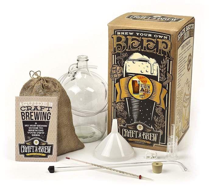 geburtstagsgeschenke für männer, bier selber machen, bier set zum selbermachen