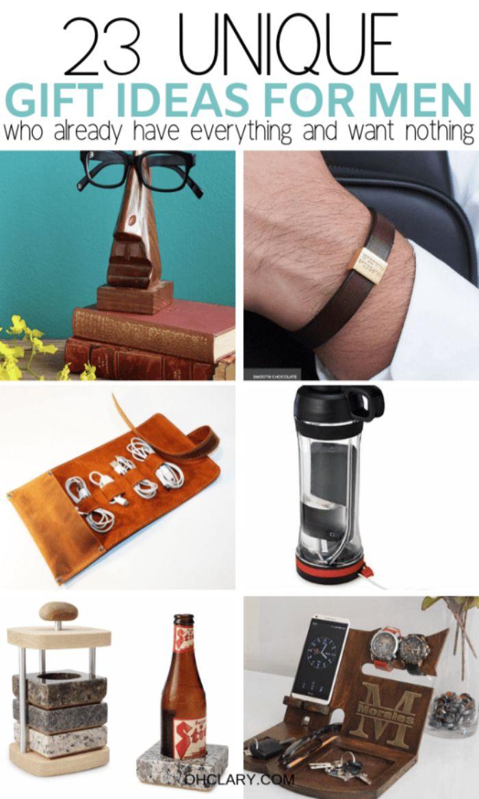 ▷ 1001 + Ideen für Geschenke für Männer, die alles haben