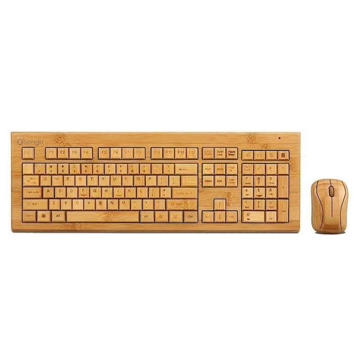 kleine geschenke, holz tastatur, holzmaus, hölzerne accessoires für männer als geschenk