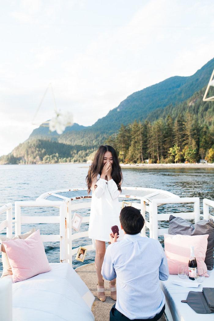 Heiratsantrag machen im richtigen Zeitpunkt und am richtigen Ort