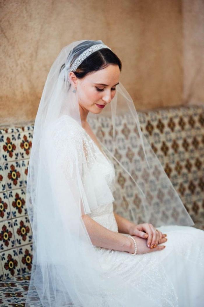 1001 Ideen Fur Faszinierende Brautfrisuren Mit Schleier