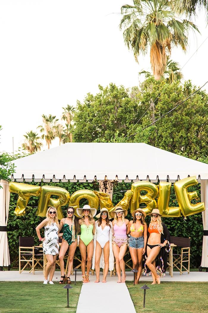 Bikini Party vor der Hochzeit organisieren, coole Ideen für unvergessliche Junggesellenabschied