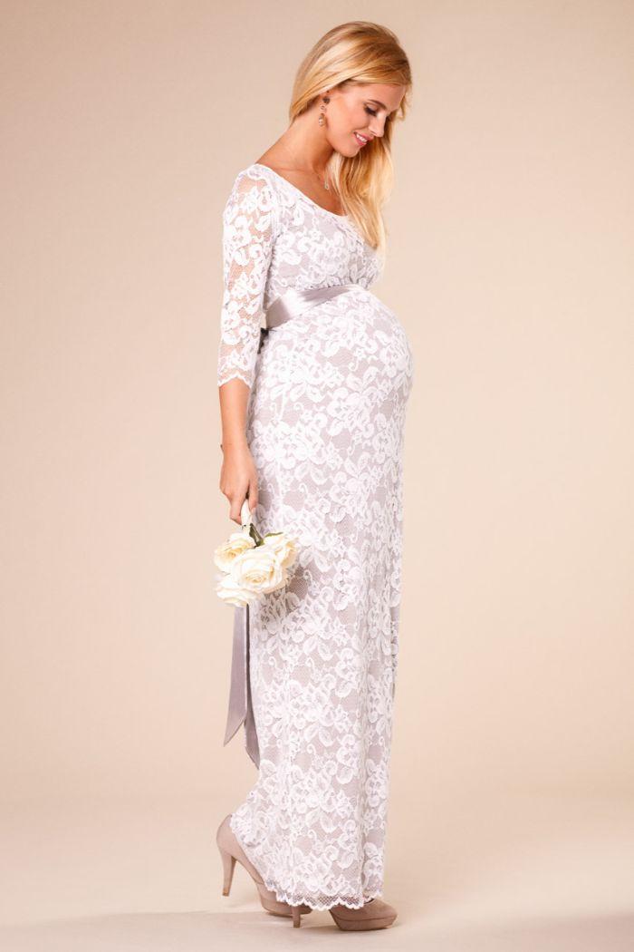 schöne hochzeitskleider, spitze kleid langes brautkleid aus spitze, elegante elemente