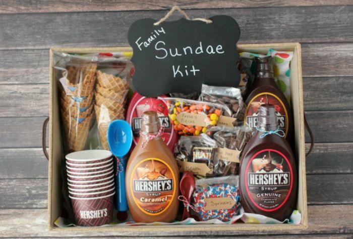 geschenk für ihn oder für die ganze familie, schöne ideen zum genießen, jeder mag süßigkeiten