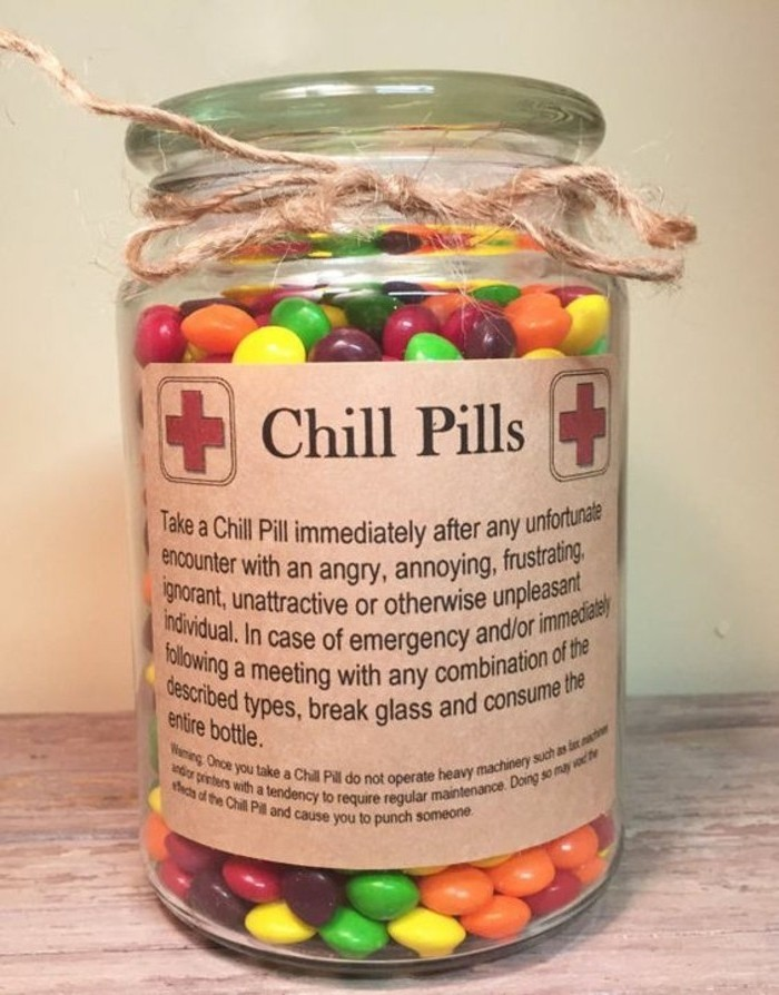 geburtstagsgeschenke selber machen, anti stress therapie, kleine bonbons schokolade gegen nervenausbrüche