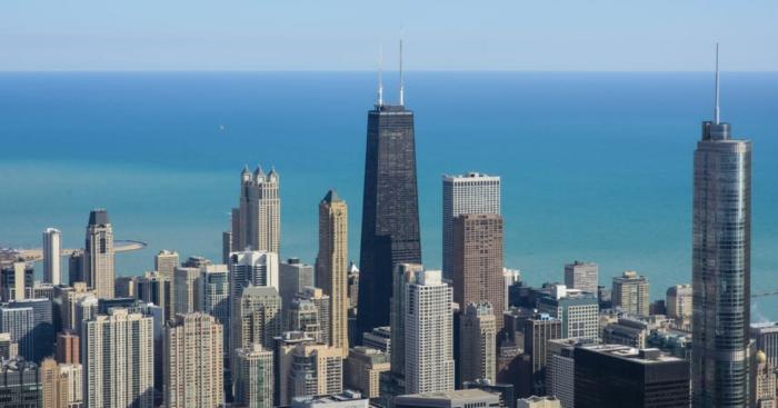 ein schönes Bild von Chicago, Lori Lightfoot ist die neue Bürgermeisterin von dieser Stadt