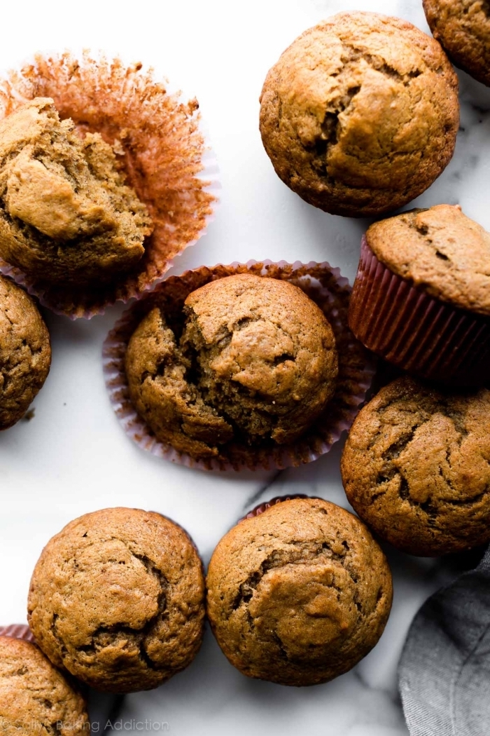 mini muffins rezept mit zimt, schnelle parytrezepte, nachtisch zu weihanchten, cupcakes