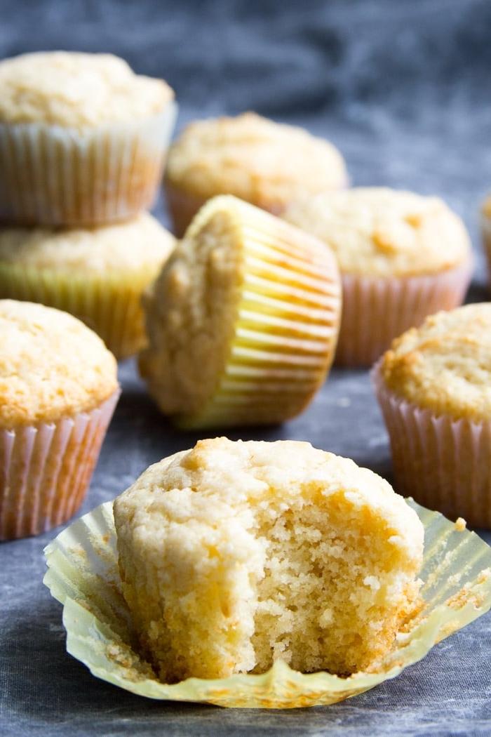 muffins für kinder, kindergeburtstag ideen, einfaches rezept, cupcakes mit vanille