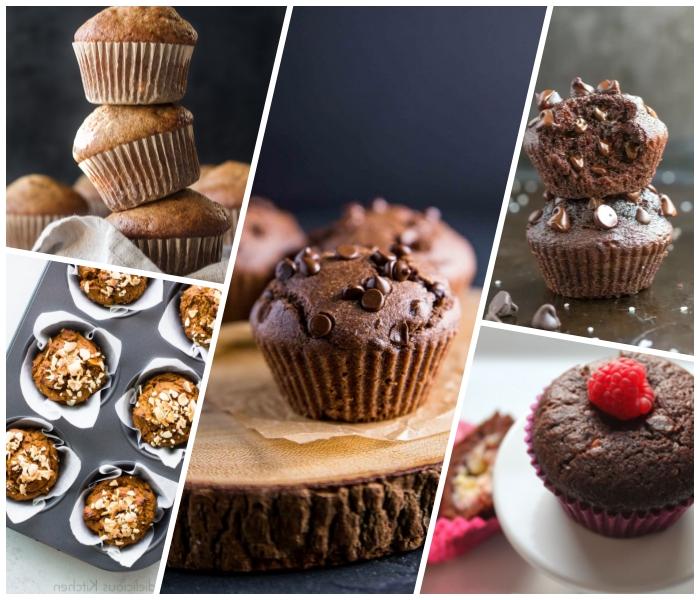 nutella muffins rezept, schnelle und einfache desserts, schokomuffin mit schokoladenchips