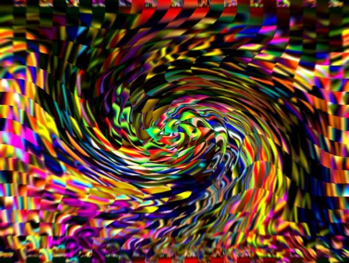 eine Mischung aus verschiedenen Farben, abstrakte Kunst in vielen Formen, Online-Kunstgalerien