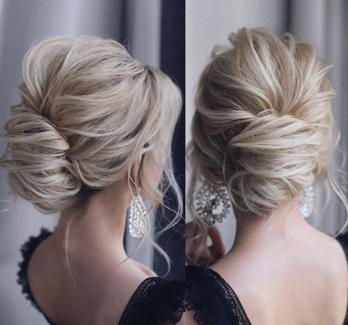 halblange frisuren eine frau von zwei perspektiven fotografiert, offizielle haarstyle idee