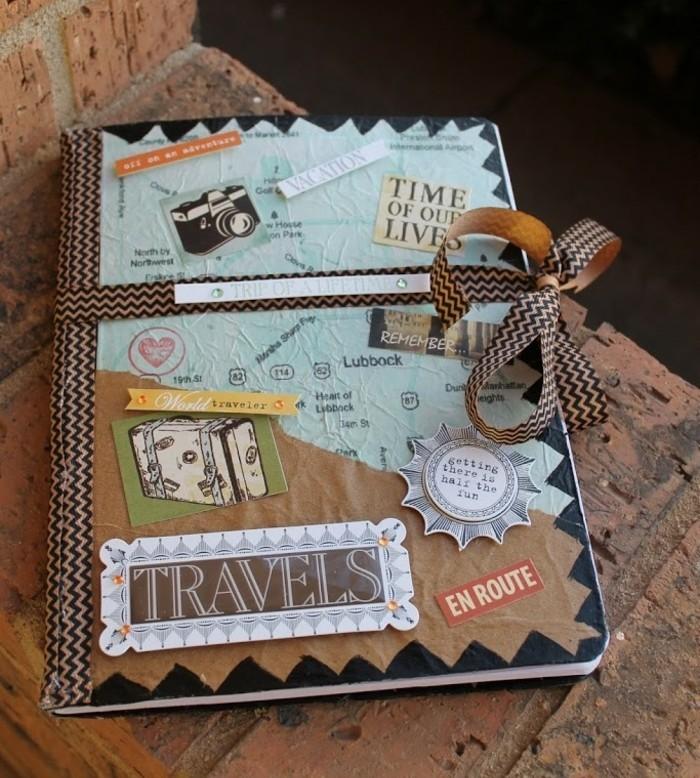 basteln für erwachsene, traveljournal, reiseführer selbst gemacht, reisetagebuch