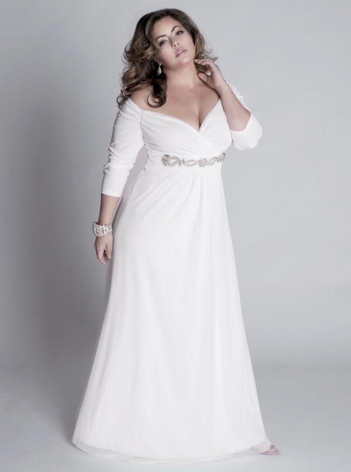 umstandsmode hochzeit, umstandshochzeitskleid plus size mode für schwangere in den ersten monaten von der schwangerschaft, elegante zukünftige mama