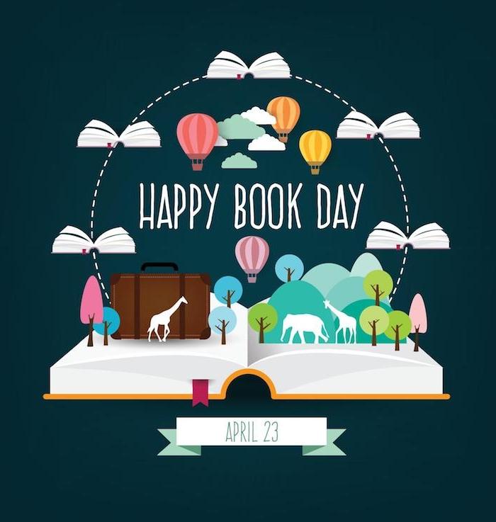 Internationaler Tag des Buches am 23. April, das Lesen zusammen feiern