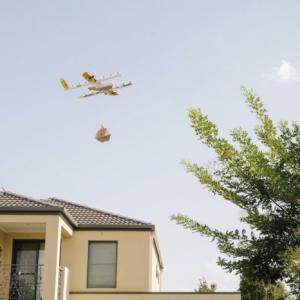 Googles´ Wing Drohnen liefern schon in Australien