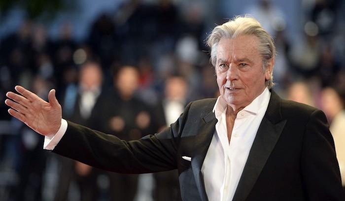 Die Schauspiel-Legende Alain Delon erhält die Goldene Ehrenpalme in Cannes