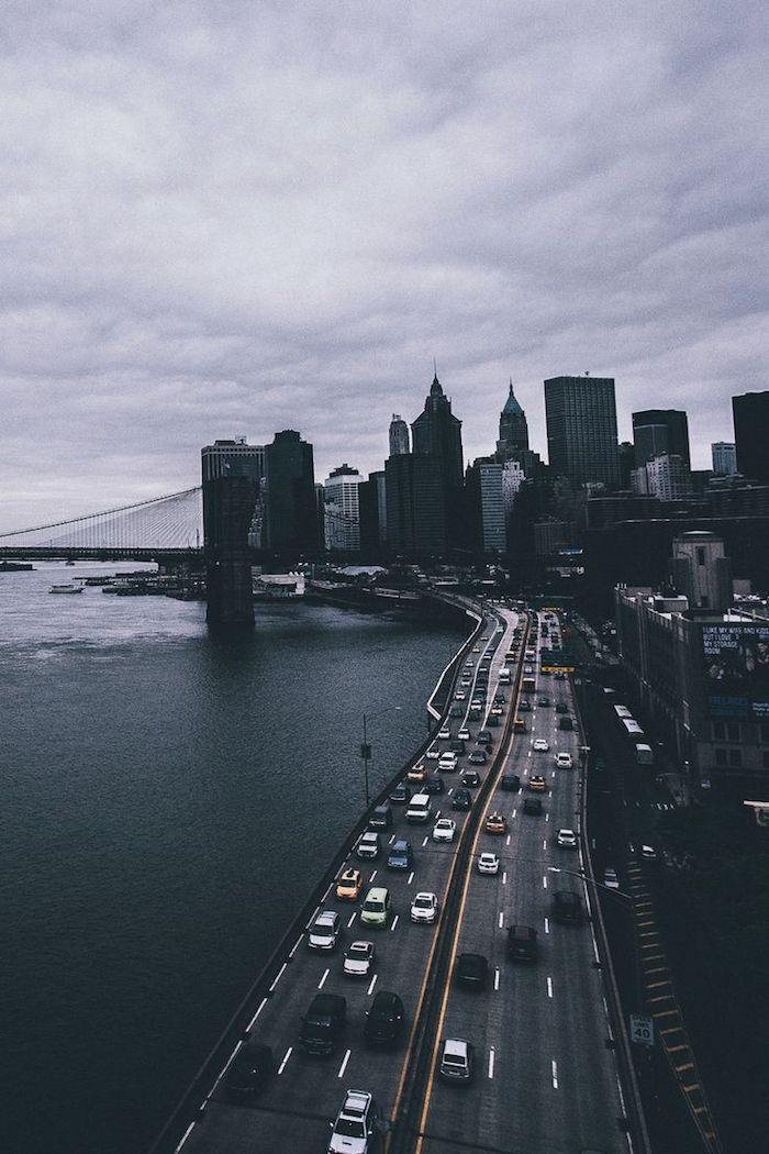 tumblr iphone backgrounds, stardleben foto von oben über die stadt, autos auf der autobahn