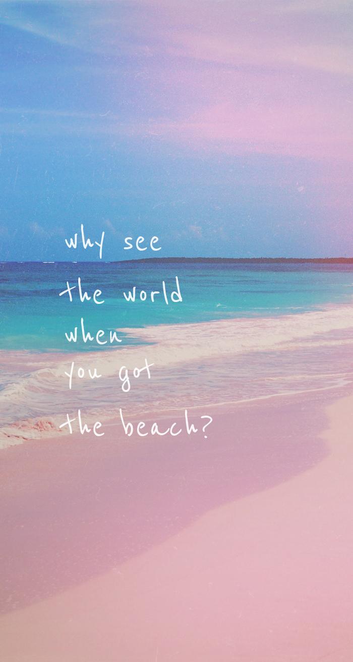 tumblr mädchen bilder, du brauchst nicht die welt sehen, wenn die am meer leben kannst