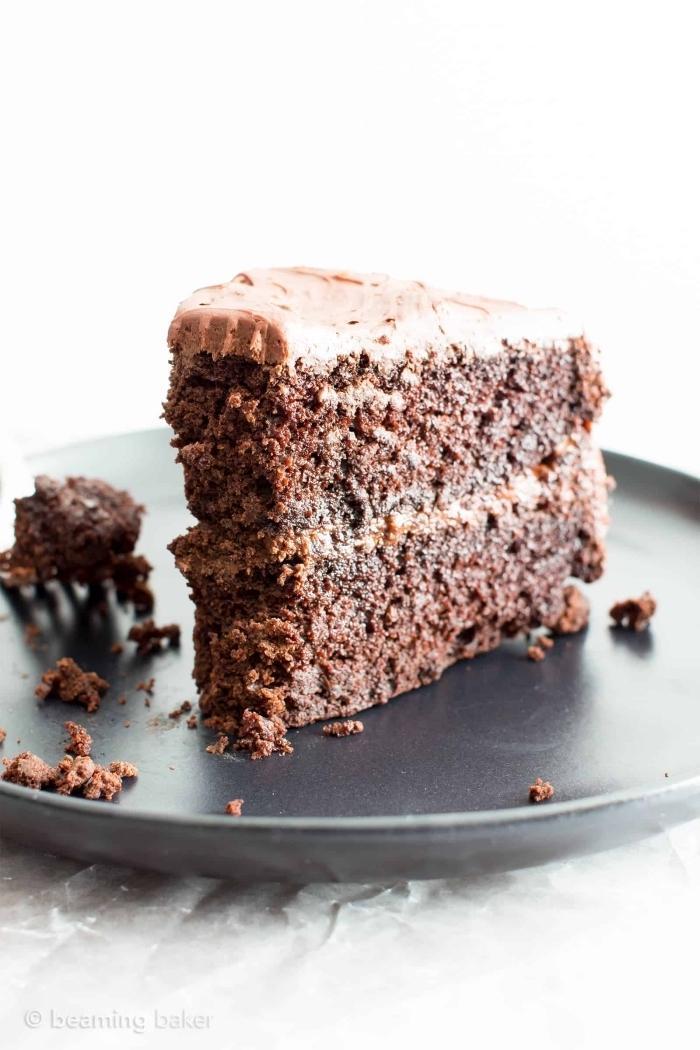 glutenfrei backen, schokoladentorte mit schokocreme, torte mit schokoalde, nachtisch ohne gluten