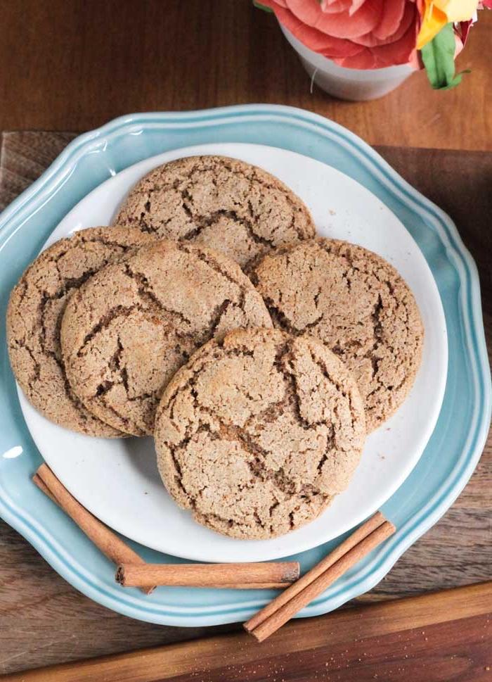glutenfrei essen, kekse mit zimt, schnelles dessert, nachtisch zu weihnachten, kekse ohne gluten