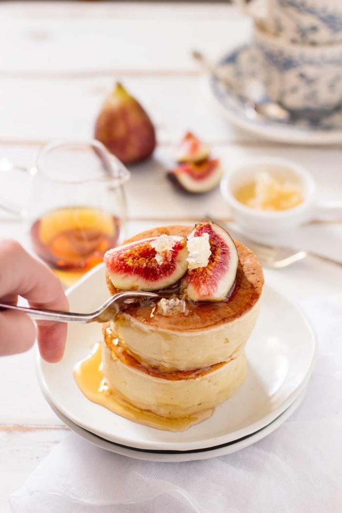 glutenfreie gerichte, schnelles dessert mit honig und früchten, nachtisch ohne gluten