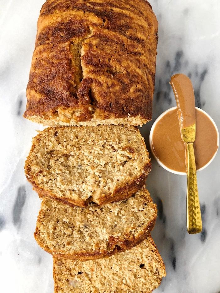 glutenfreie rezepte, schneller kuchen mit erdnussbutter, nachtisch ideen, goldener messer, naschtisch ideen