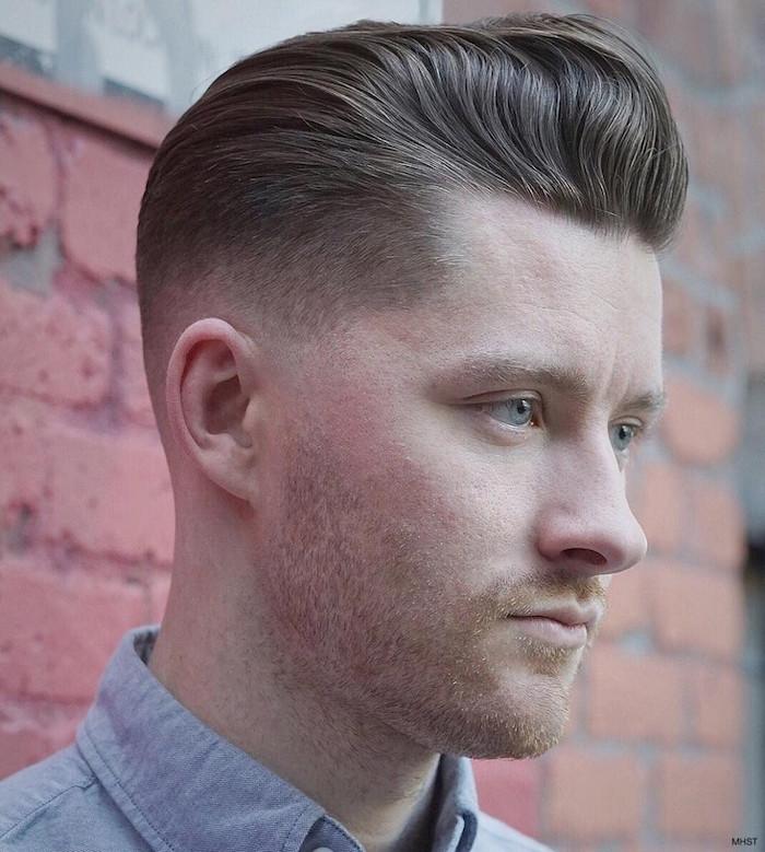 männerfrisuren 2019 elegante gestaltung und einfach zu machen, dunkelblondes haar mann