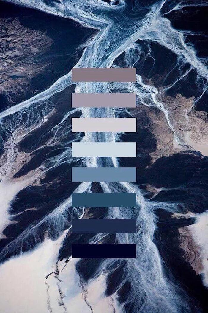 tumblr iphone backgrounds, das meer von oben gesehen, farbnuancen schema