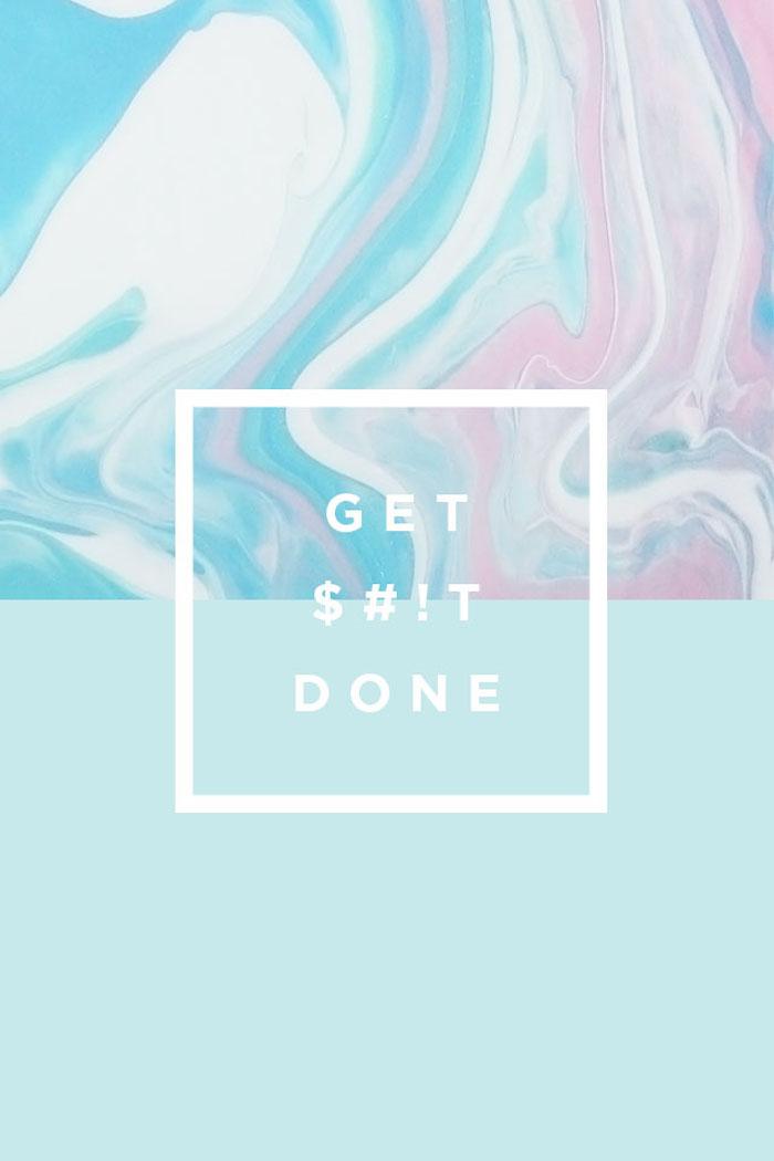 tumblr iphone backgrounds, motivationsspruch idee, gehe und mache die sachen, die du machen musst