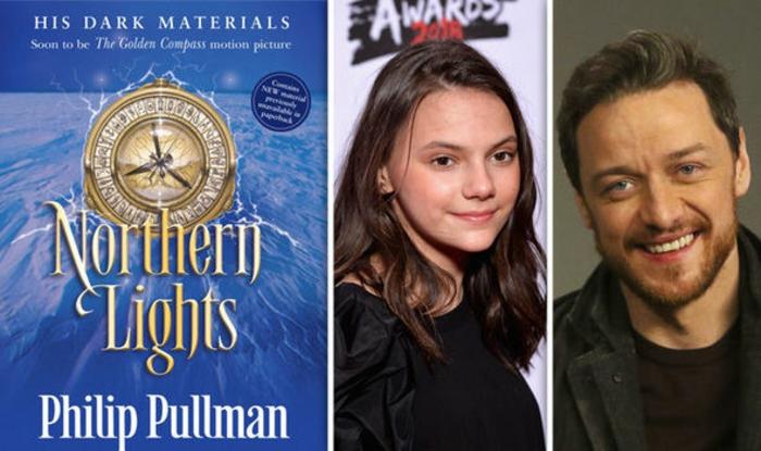 His Dark Materials von Philip Pullman, und die Schauspieler, die an der Serie teilnehmen