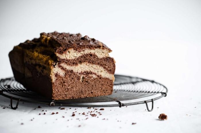 kuchen glutenfrei bachen rezept, marmor kuchen mit schokolade und vanille, nachtisch ideen