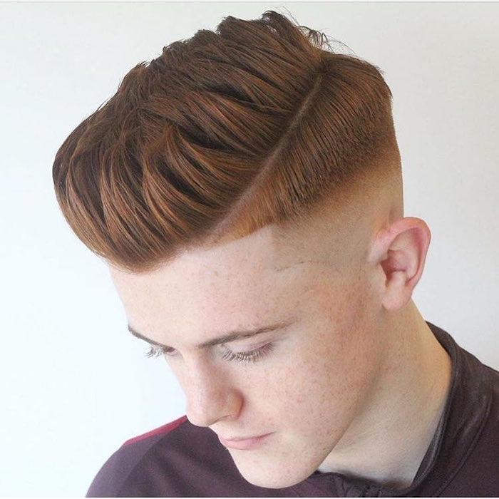 kurzhaarfrisuren 2019 männer, mann mit natürlich roten haaren, rothaariger mann