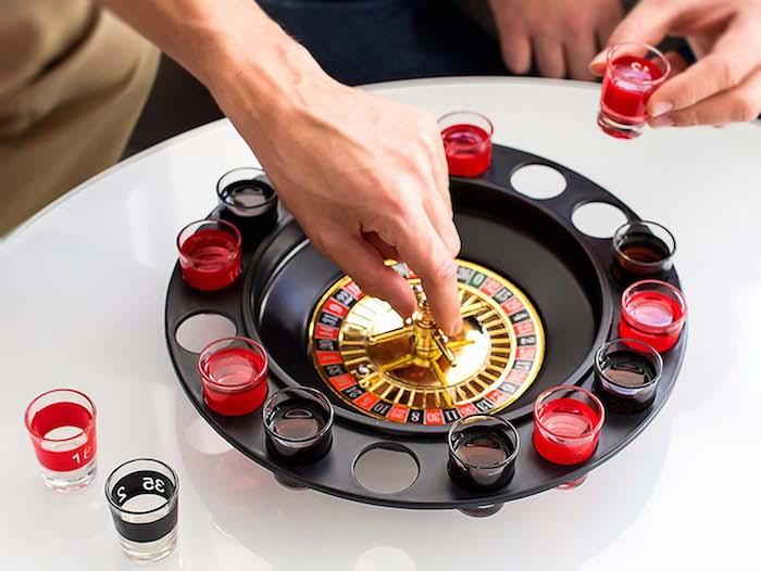 Lustige Geschenke für Männer: Trinkspiel-Roulette