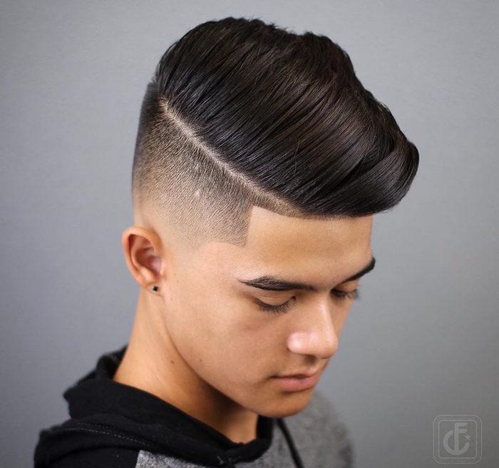 männerfrisuren undercut für teenager ideen, mittellanges haar, undercut trends zum entlehnen