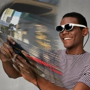Mit Nreal gemischte Realität Brillen versetzen wir uns in anderen Welten