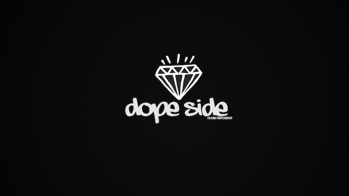 pinterest hintegründe, dope side aufschrift idee, diamant weiß auf schwarz