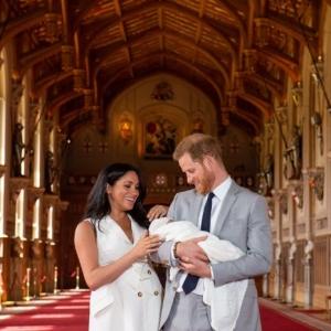 Archie Harrison Mountbatten-Windsor - so heißt der Sohn von Prinz Harry und Herzogin Meghan!