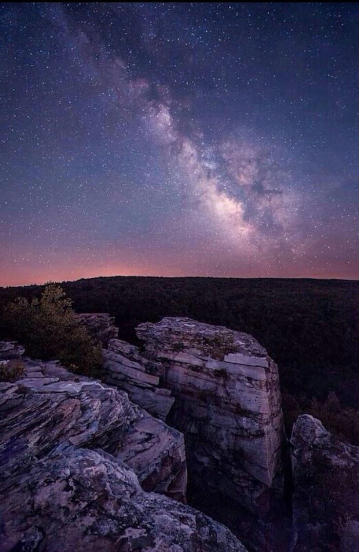 hintergrund tumblr, weltall, kosmos foto, himmel und natur darunter