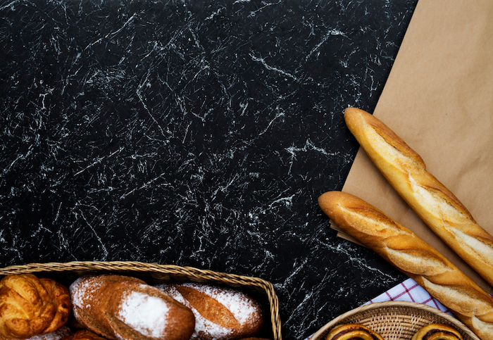 tumblr aesthetic wallpaper, baguette und andere schöne backwaren für kochbegeisterte