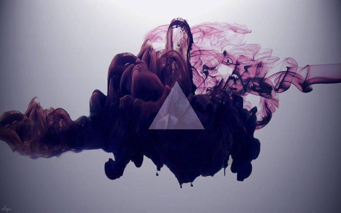 tumblr aesthetic wallpaper, kreativität in einem bild, foto für künstler in lila