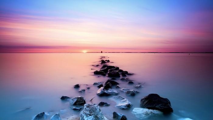 reddit tumblr, fotos mit gesättigten farben von der natur, meer und himmel
