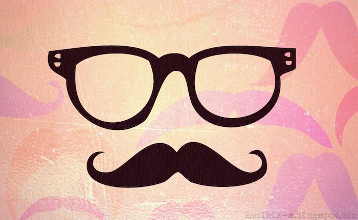 reddit tumblr, idee für hintergrund inspo für hipster, brille und mustache