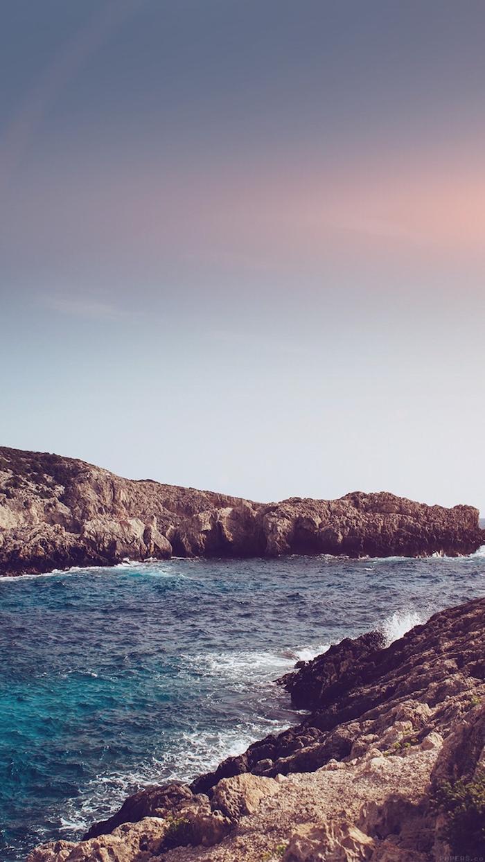 tumblr wallpaper laptop, das meer und der himmel ein wunderschöner ausblick