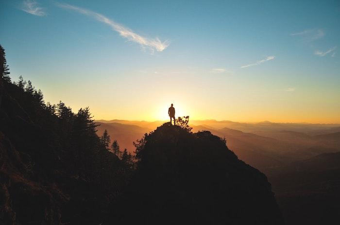 tumblr wallpaper, bild in der natur machen, blauer himmel, sonnenuntergang foto